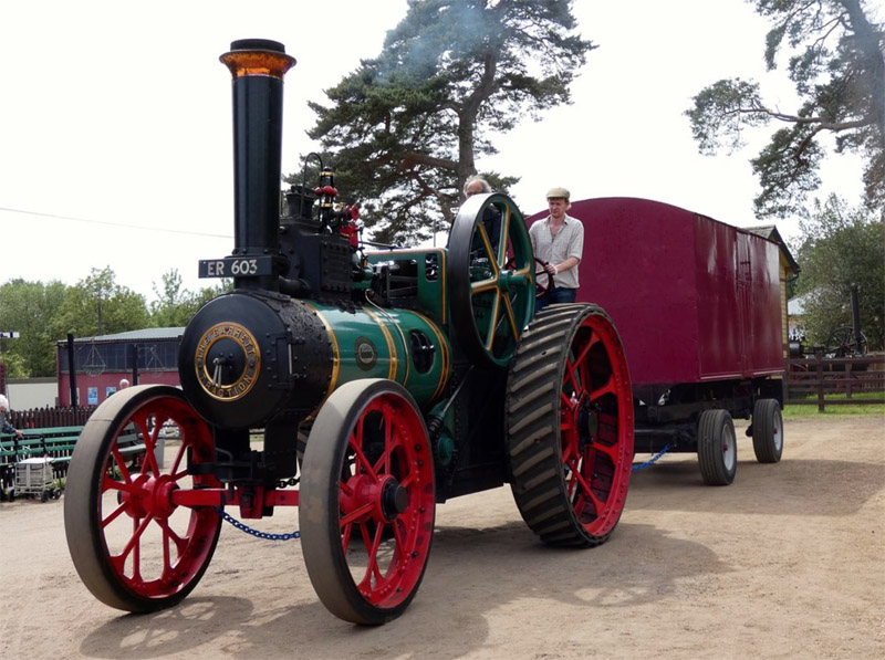 Visitor's Steam Engine Photos