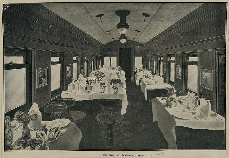 Whatever happened to the Restaurant Car?