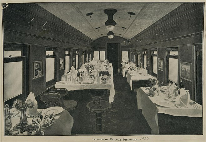 Railway _Dining _Car _1907