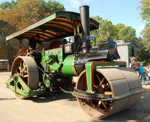 Burrell -Steam -roller