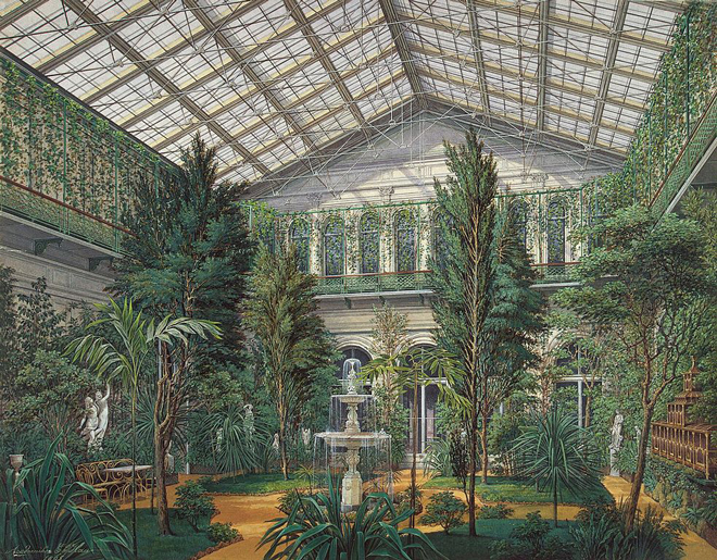 Winter Gardens; Now and Then