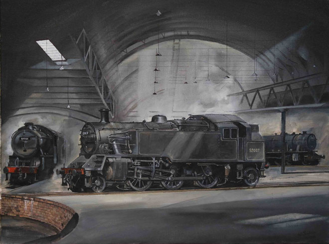 Railway Artist Interview: Wrenford Thatcher: