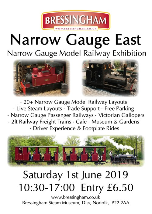 Narrow Gauge East - Bressingham Steam & Gardens